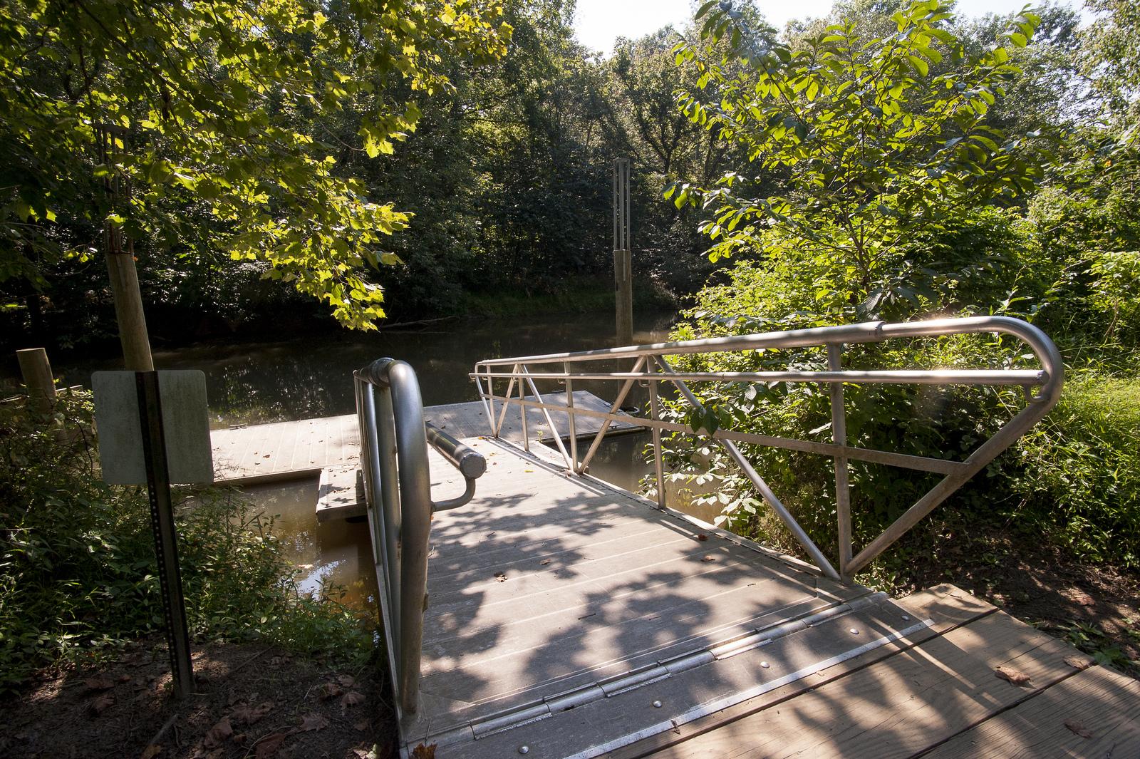 Queen Anne Canoe Launch Patuxent River Park