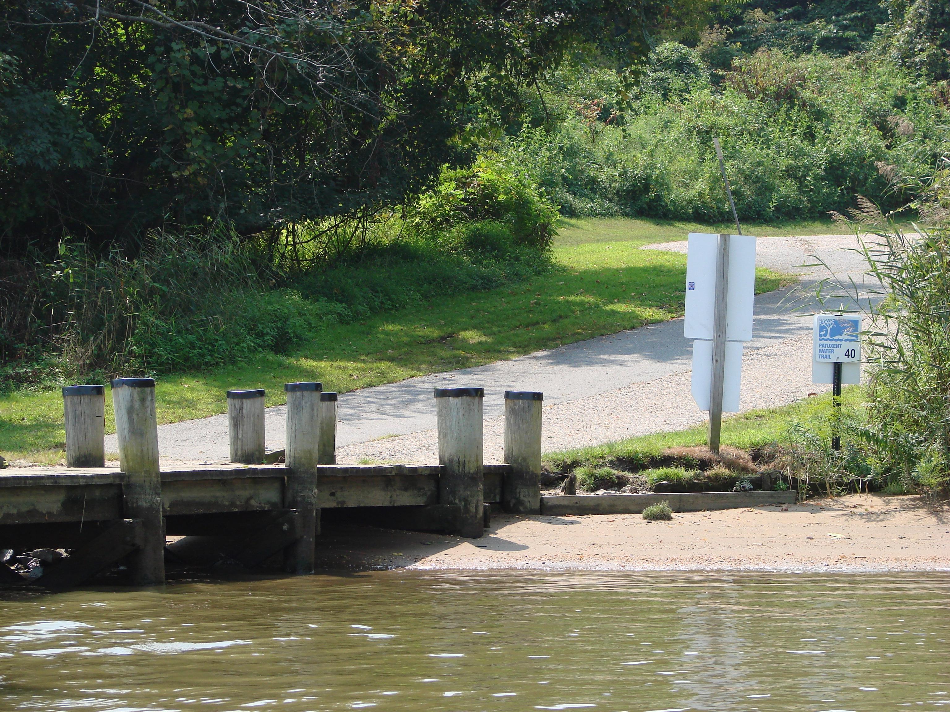 Selby's Landing Launch Site – JBNA Patuxent River Park